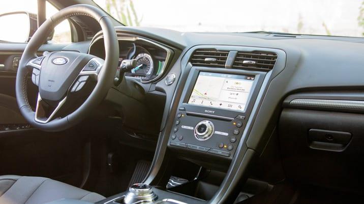 2017 Ford Fusion Sport interior