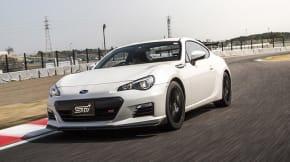 2015 Subaru BRZ tS white track