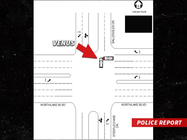 Venus Williams coinvolta in un grave incidente stradale, morto un