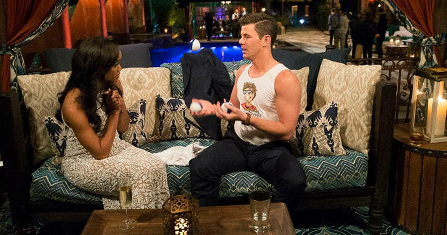 "BACHELORETTE 13 - ""Episode 1301"" - Accomplished Texas attorney Rachel Lindsay takes a recess from the courtroom to start her search for happily ever after in the 13th edition of ABC's hit series, ""The Bachelorette,"" premiering at a special time, MONDAY, MAY 22 (9:01-11:00 p.m. EDT), on The ABC Television Network. (ABC/Paul Hebert)RACHEL LINDSAY, LUCAS"
