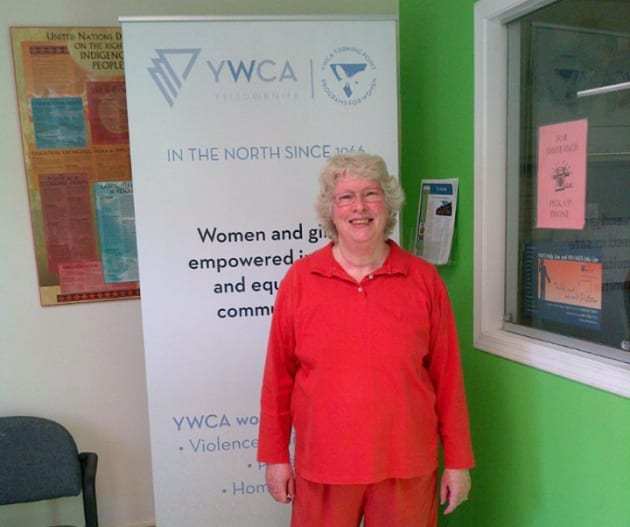 Executive director of YWCA Yellowknife, Lyda Fuller, is shown in a Facebook
