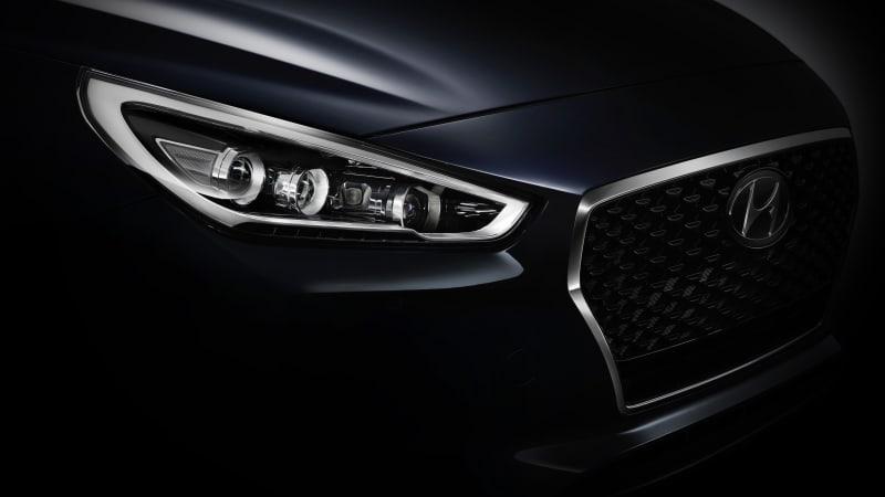 Hyundai i30 teaser photo