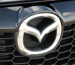 Mazda badge