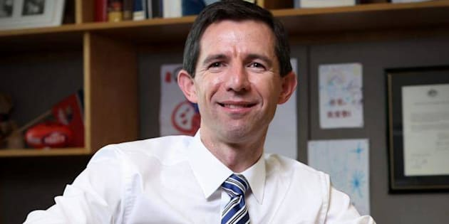 "Education Minister Simon Birmingham says a new VET model will be ""built from the ground"