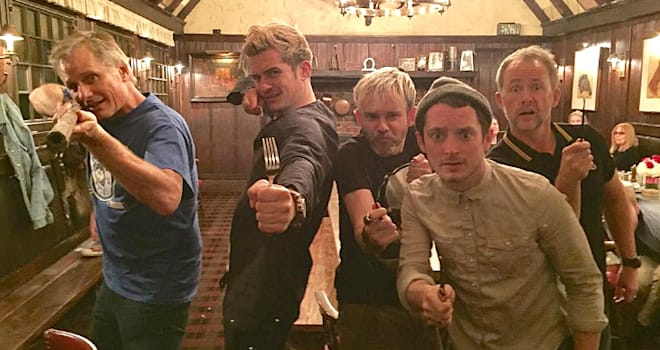 Orlando Bloom's reunion with his 'Lord of the Rings' co-stars is 'precious'
