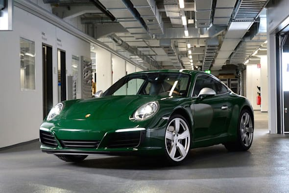 The one-millionth 911, production, 2017, Porsche AG