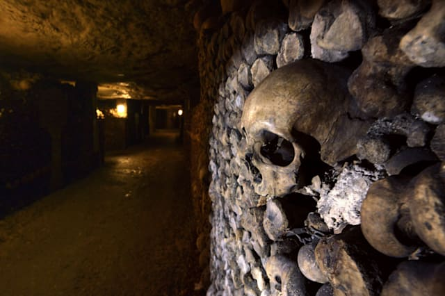 FRANCE-TOURISM-CATACOMBS
