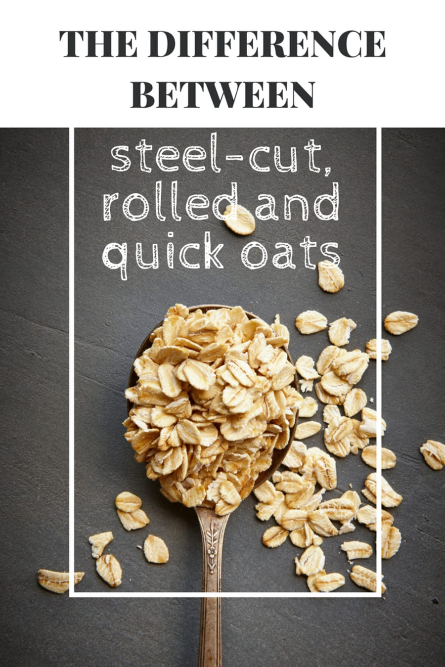 The Difference Between Steel-Cut, Rolled And Quick