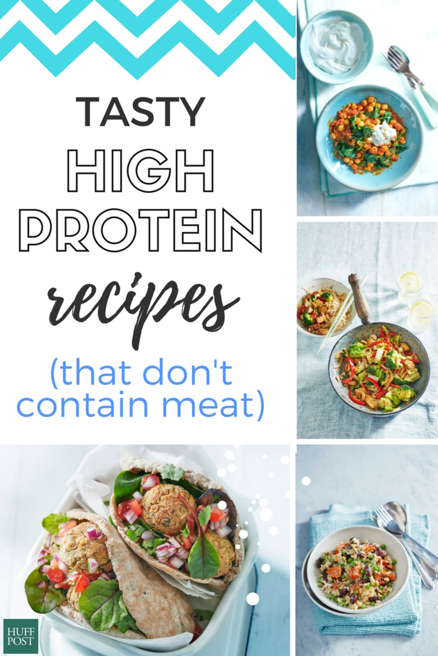 Tasty, Easy Recipes With Heaps Of Protein (But No