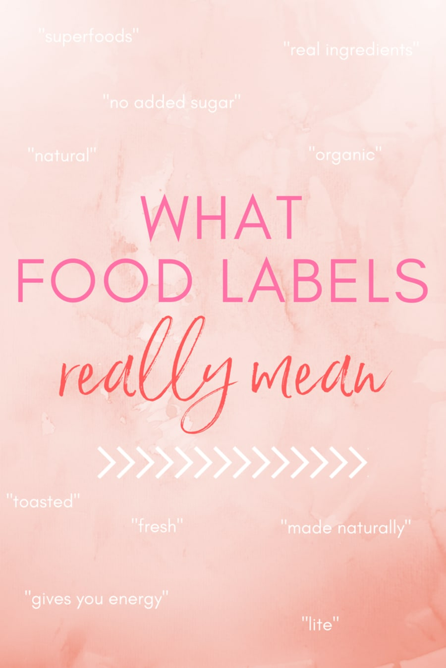 Food Labels Are Super Sneaky. Here's What They Really
