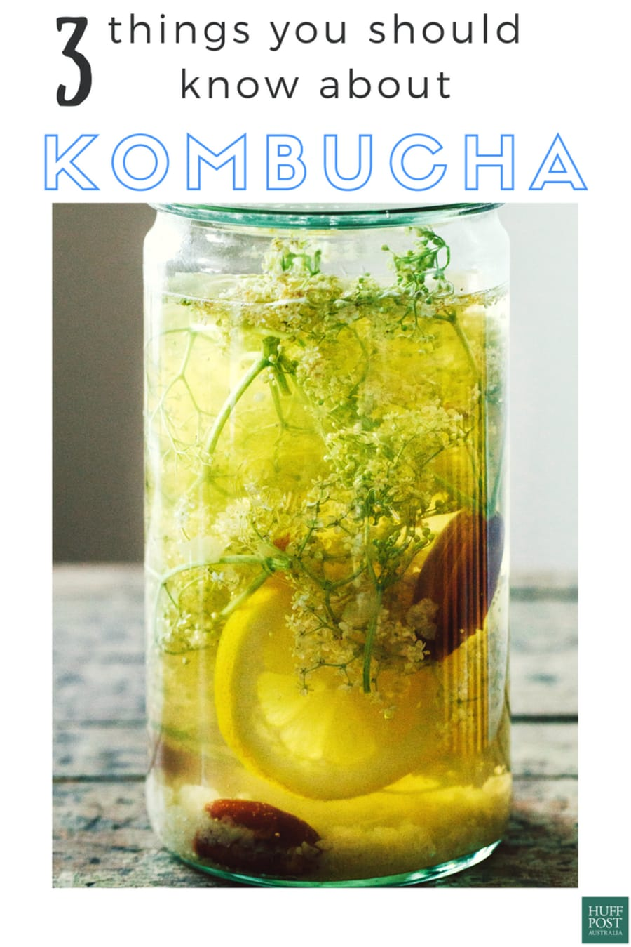 What You Should Know Before Drinking Kombucha