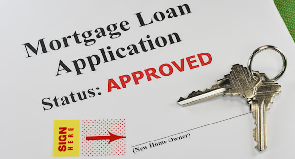 approved real estate mortgage...