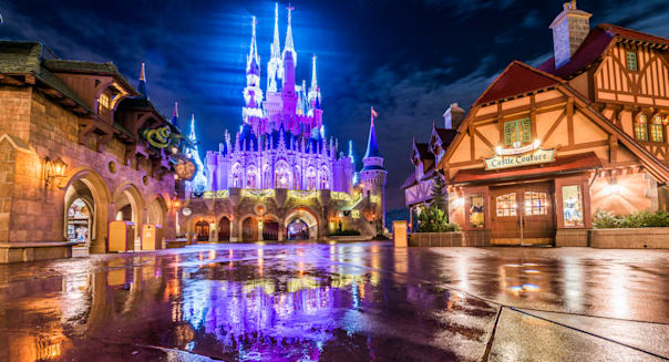 Fantasyland Dream Lights Reflections