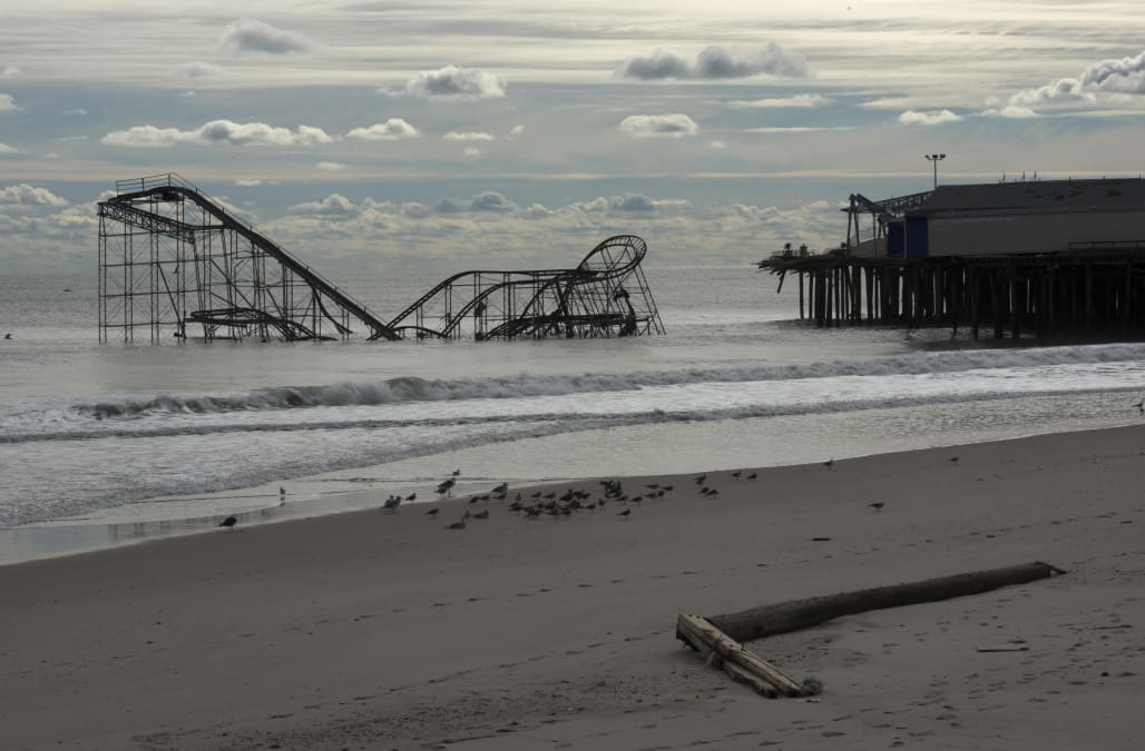 Hurricane Sandy Aftermath in New Jersey
