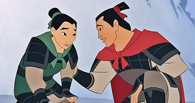mulan, love interest, chinese, whitewashed, remake