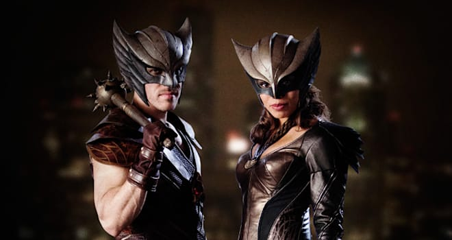 hawkman, hawkgirl, dc, legends of tomorrow