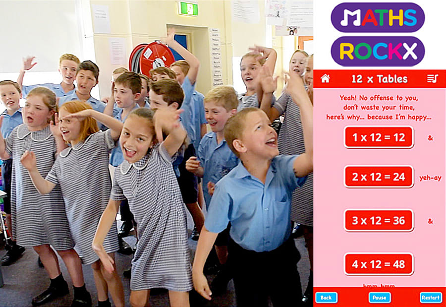 Kids are loving rocking out to their times tables, but developing the app was a tough gig for