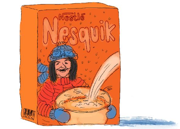 Cécile Duflot dément avoir skié déguisée en Groquik (et on vous explique
