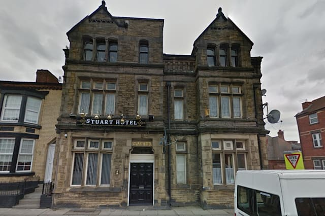Has this man found a haunted hotel on Google Street View?