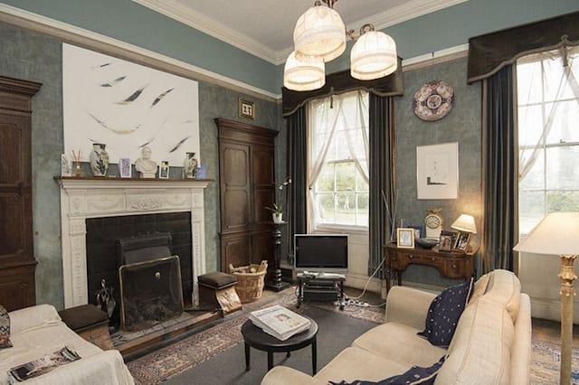 An elegant reception room