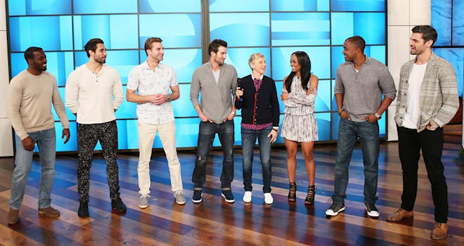 Watch The Bachelorette's Magic Mike-Inspired Group Date on Ellen
