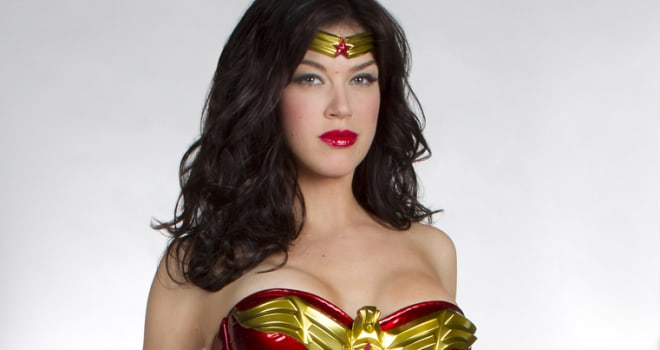 "WONDER WOMAN -- First image of Adrianne Palicki starring as the title character in the new NBC pilot ""Wonder Woman,"" from executive producer David E. Kelley (""Boston Legal,"" ""Ally McBeal,"" NBC's ""Harry's Law""). The pilot was written by Kelley, who also serves as executive producer with Bill D'Elia (""Boston Legal,"" ""The Practice,"" NBC's ""Harry's Law""). Jeffrey Reiner (""The Event"") is directing. Based upon DC Comics characters, ""Wonder Woman"" is from David E. Kelley Productions and Warner Bros. Television. © 2011 NBC/Warner Bros. Entertainment Inc. All Rights Reserved. Photo Credit: Justin Lubin"