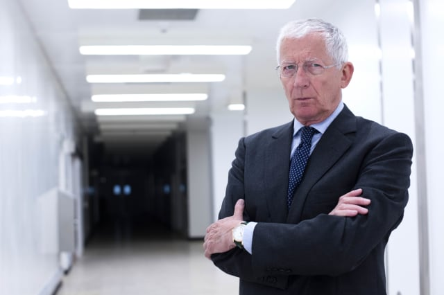 Nick Hewer is supporting the FCA's ScamSmart campaign, aimed at raising awareness of investment fraud amongst over 55sPhotograph: Rosie Hallam