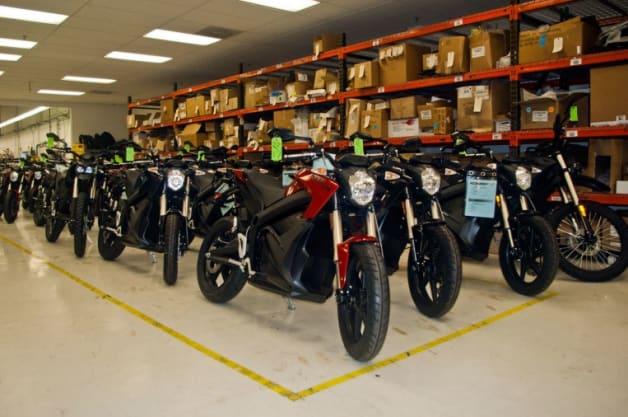 Zero Motorcycles Factory Tour