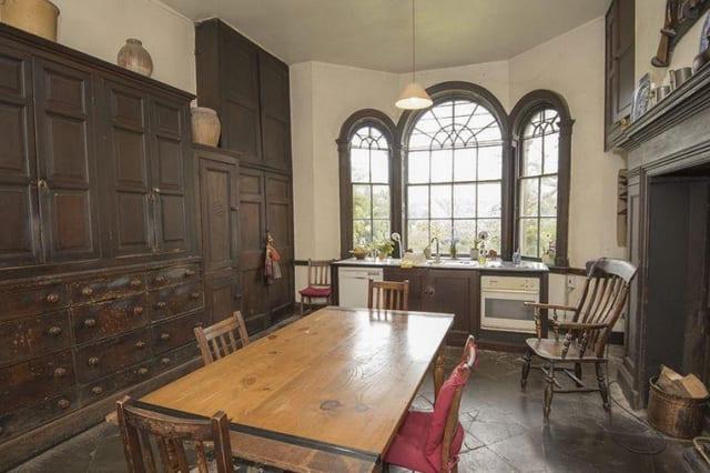 The historic kitchen