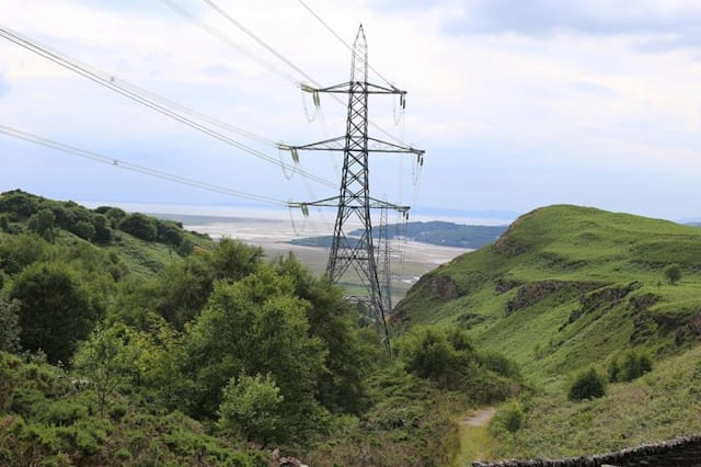 Pylon in Snowdonia