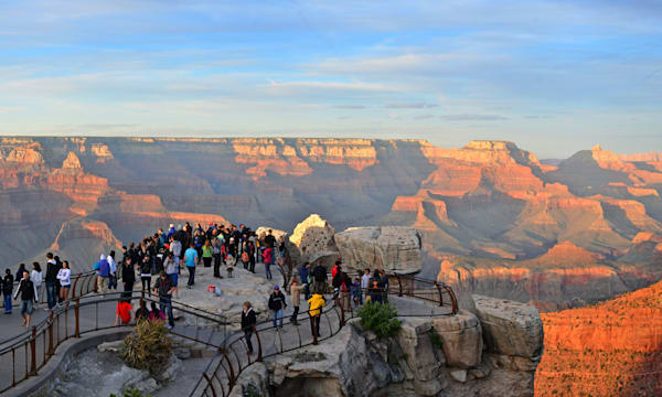 Grand Canyon Mather Point Sunset 2011_4115a