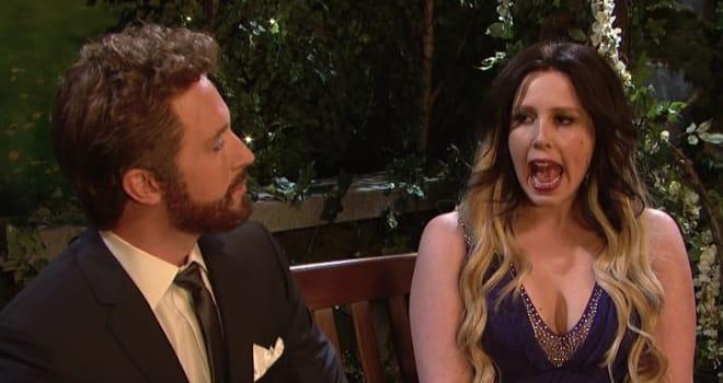 Watch 'SNL' Spoof 'The Bachelor' in 'Beard Hunk' Parody