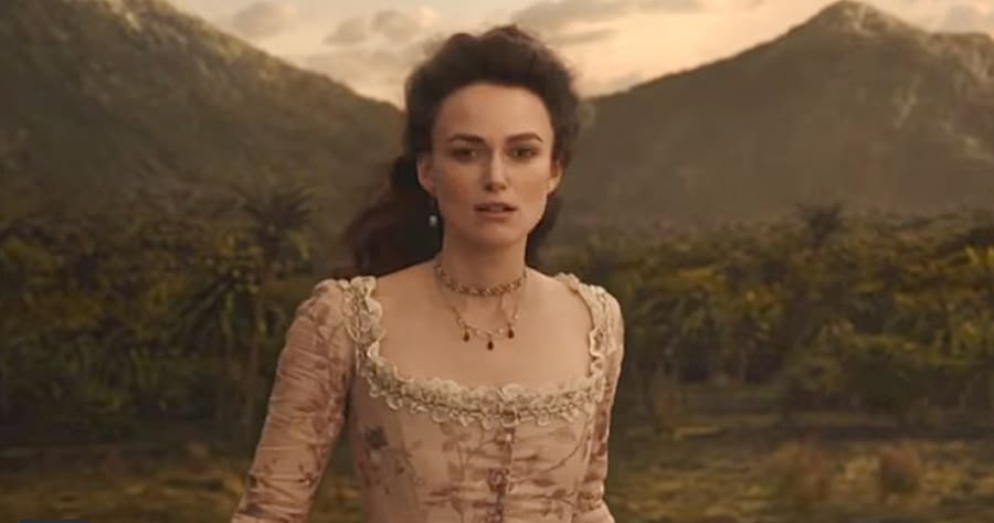 Keira Knightley Spotted in 'Pirates of the Caribbean 5' International Trailer