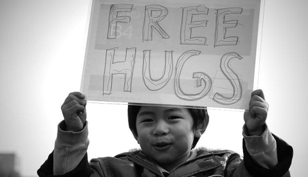 free 'cute' hugs