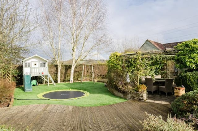 The kids' garden near Bristol