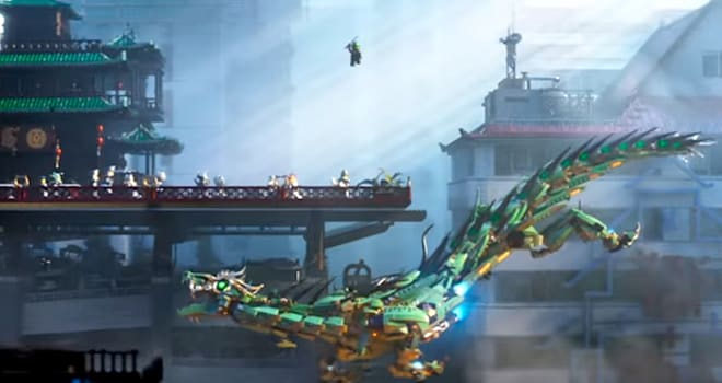 'The LEGO Ninjago Movie' Trailer Brings Bad Blood & Cool Visuals to Franchise