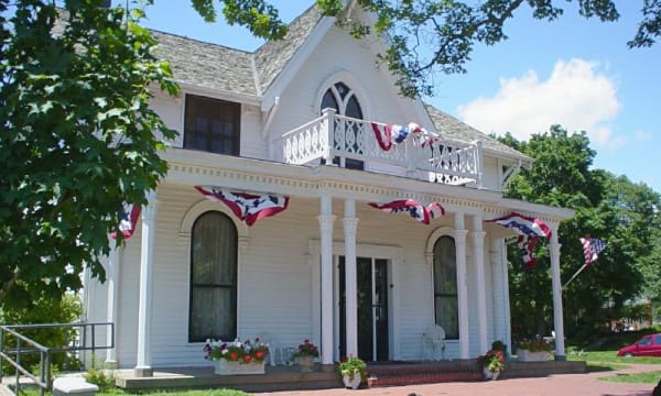 Amelia Earhart Home - Atchison, Kansas