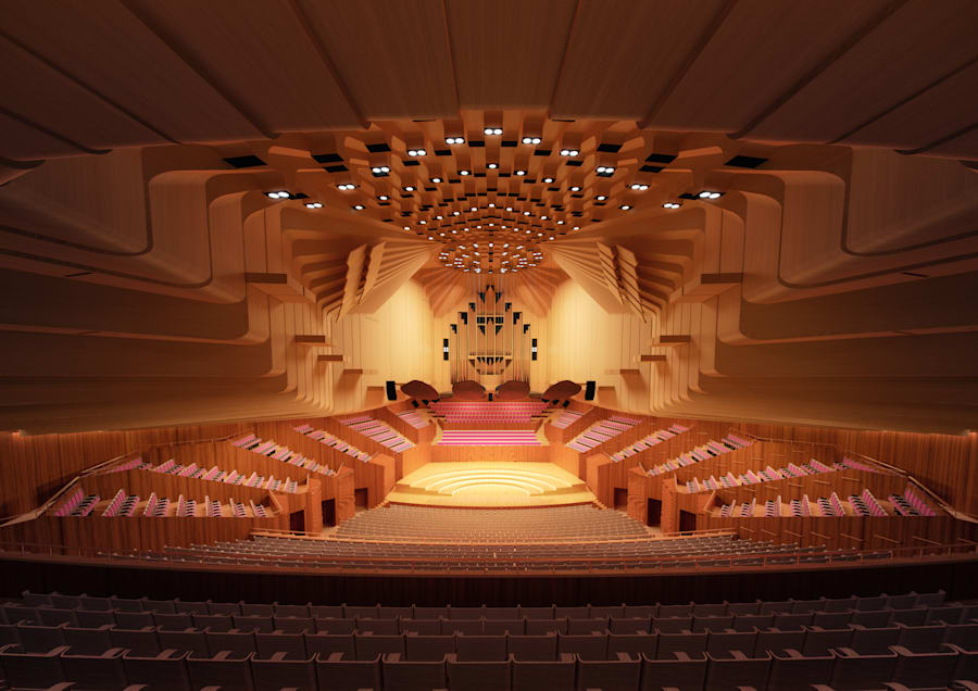 The Concert Hall is set to undergo the biggest upgrade of