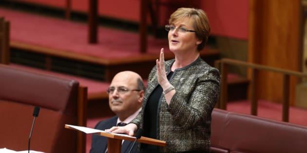 Senator Linda Reynolds says the hard work on equal gender representation begins