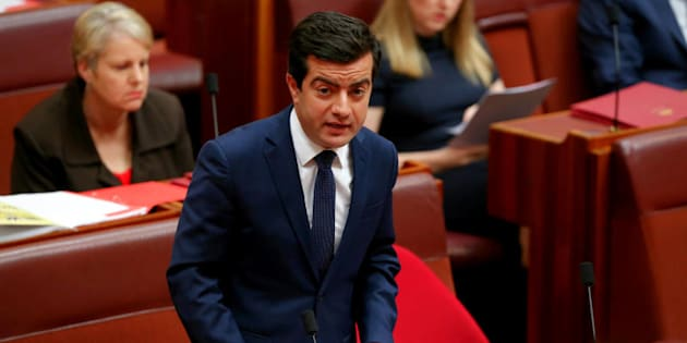 Sam Dastyari has apologised to his party, the Senate, his family and the Australian