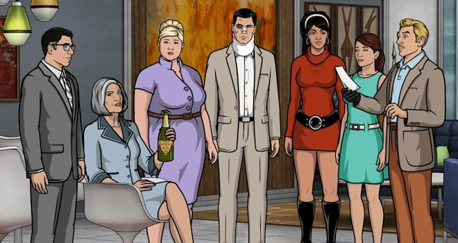 archer, fx, season 7, season 8, season 9, season 10, renewed, renewal