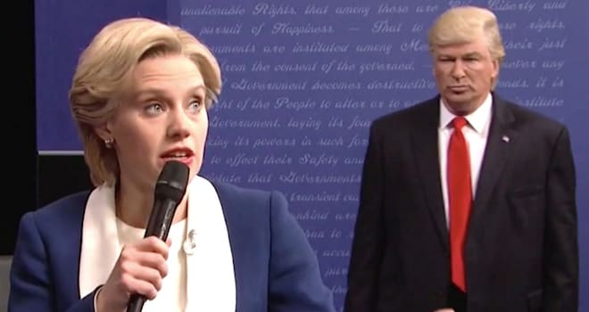 Trump calls SNL spoof 'hit job,' calls for end of show
