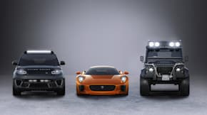 Jaguar Land Rover James Bond Cars
