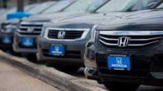 new car sales Honda