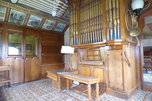 The Victorial pipe organ
