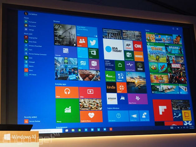 Here's a closer look at the latest build of Windows 10 (video)
