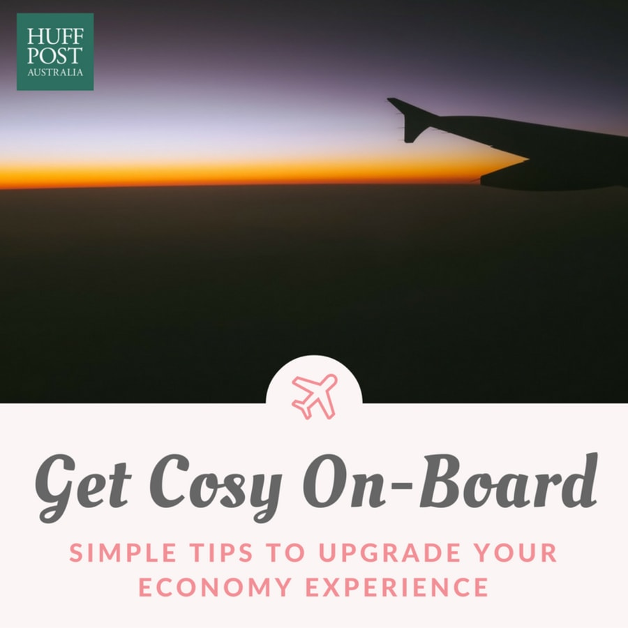 How To Turn Your Economy Flight Into A Business Class