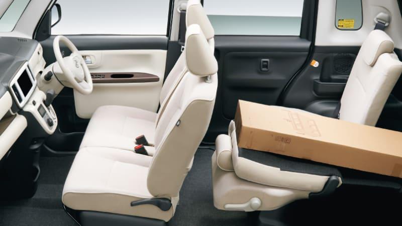 Daihatsu Move Canbus interior