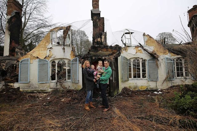 Family's 'dream home' destroyed by fire days after moving in