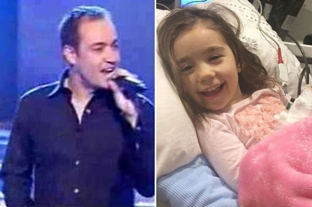 Kenny Thomas trying to raise money for daughter's brain tumour